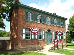 The home of Henry J. Heinz, now at Greenfield Village in Dearborn, Michigan, USA.