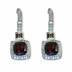 Here's yet another charming color gemstone earrings - Parris Jewelers, Hattiesburg, MS Gemstone Colors, Semi Precious Gemstones, Gemstone Earrings, Diamond Engagement Rings, Fine Jewelry, Jewels, Personalized Items, Bijoux, Gemstones
