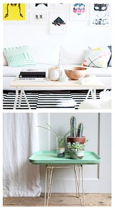 curiouszhi | from the blog: Coffee table styling inspirations - serene and lovely @ http://wp.me/p48Onh-7A #styling