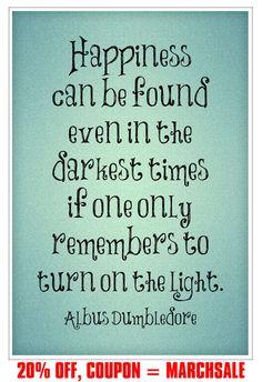 Hey, diesen tollen Etsy-Artikel fand ich bei https://www.etsy.com/de/listing/227613333/harry-potter-print-dumbledore-quote