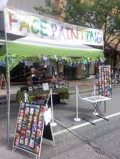 1000 images about glitter tattoo face painting station on for Face painting rates