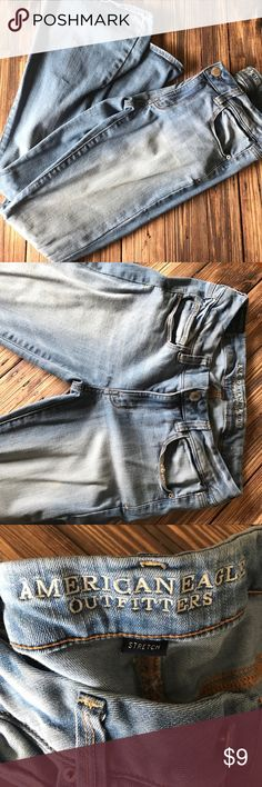 AEO American Eagle Boho Stretch Flare Jean Size 6 AEO American Eagle Boho Stretch Flare Jean Size 6. Light wash. Trendy and flattering. Bundle and save! American Eagle Outfitters Jeans Flare & Wide Leg
