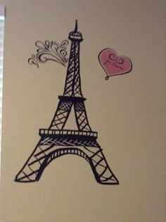 This is a fun Paris wall sticker you can get it at Hobby Lobby!!!