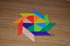 DIY Origami: DIY Origami Transforming Pinwheel