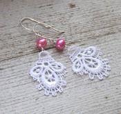 """""""Charlotte"""" earrings for Charlotte"""