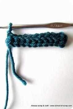 Scuola di Uncinetto: la mia maglia bassissima su Mammafelice Crochet Stitches, Friendship Bracelets, Mamma, Patterns, Jewelry, Bricolage, Block Prints, Jewlery, Jewerly
