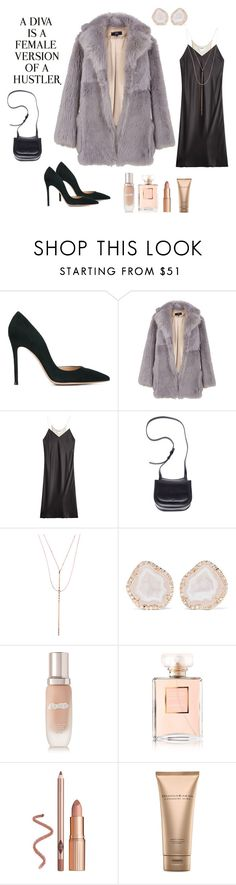 """Watch it."" by sgeoghegan on Polyvore featuring Gianvito Rossi, TIBI, DKNY, The Row, Lana, Kimberly McDonald, La Mer, Chanel, Donna Karan and WALL"