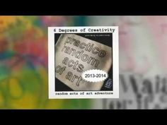 Random Acts of Art Adventure Creative Passport [VIDEO] via 6 Degrees of Creativity Art Journal Prompts, Art Journaling, Facing Fear, Creative Connections, Random Acts, Phobias, Art Therapy, Serendipity, Altered Art