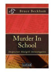 Murder In School by Bruce Beckham ebook deal