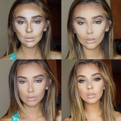 How To Contour Your Face To Look Younger #Beauty #Trusper #Tip