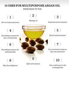 Argan oil beauty - http://www.realbeautyspot.com/benefits-uses-argan-oil-skin-hair/