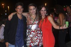 Alex Granada, Ivone Karlena y Georgina Abdel Jalek.