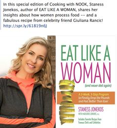 Check out Eat Like a Woman on COOKING with  #Nook - Celebrity Recipe Giulian Rancic! http://bit.ly/1oXxSwu