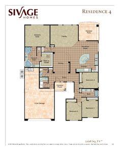 Sivage Homes 4.0 Floor Plan