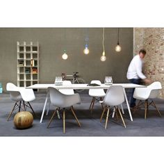 Table rectangulaire LOOP STAND de Hay, 2 coloris, 4 tailles
