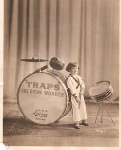 A young Buddy Rich- VERY RARE FAMILY PHOTOGRAPH OF THE WORLD RENOWNED DRUMMER OF ALL TIMES. IT IS SAID THAT HE SAT BEHIND HIS FIRST RAP SET AT AGE FIVE.