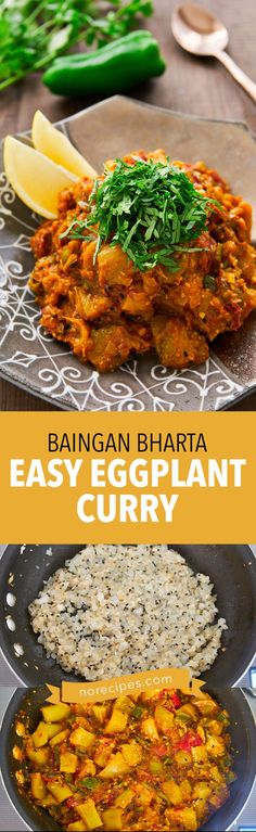 Easy Eggplant Curry Recipe (Baingan Bharta) - Delicious Techniques