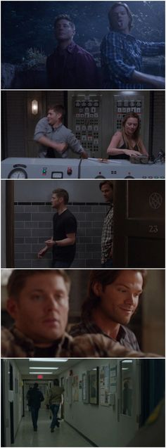 [gifset] Jensen and Jared dancing for Season 9 's gag reel :D