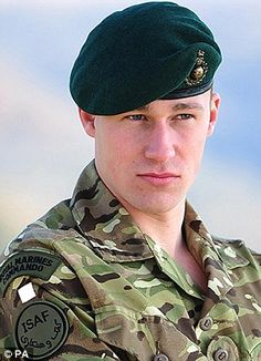 Royal Marine James Wright was killed in Afghanistan after a grenade was thrown into his patrol's checkpoint
