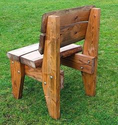 50 DIY Wood Projects thinking about quick tactics of No BS Old Wood Projects Old Wood Projects, Furniture Projects, Wood Crafts, Diy Wood, Project Projects, Pallet Projects, Rustic Chair, Rustic Furniture, Diy Furniture