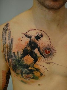 Soldier Photoshop Tattoo by Xoil