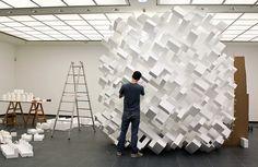 boxes sculpture