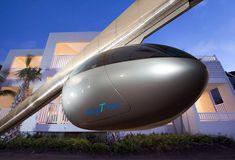 skytran: tel aviv builds the levitating public transit of the future - designboom