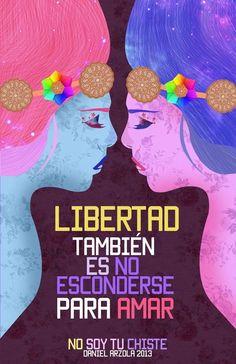 Amor es libertad Art Print