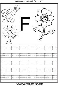 Full page of uppercase letter tracing for each letter of the alphabet · Alphabet  Tracing WorksheetsKindergarten ...
