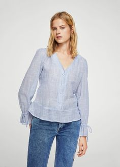 Camisa mil rayas | MANGO