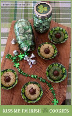 Kiss Me I'M Irish Cookies