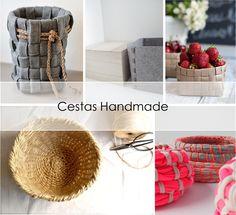 DECORACION FACIL: Cestas Handmade Low cost