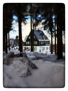 Winteridylle #Ahornallee #Oberbärenburg