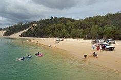 Moreton Island Western Beach