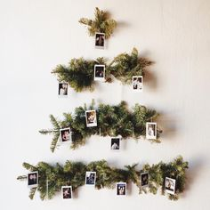 60 Minimalist Christmas Decoration On A Budget. Some of the most creative and unique christmas tree decorating ideas are actually the ones that are the cheapest. Don't think for a minute that decora. Bohemian Christmas, Unique Christmas Trees, Noel Christmas, Simple Christmas, Winter Christmas, All Things Christmas, Xmas Tree, Christmas Christmas, Christmas Tree On Wall