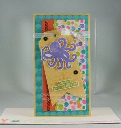 Sea Street stamp set from Stampin' Up! and Under the Sea papers by Doodlebug Design – Original design by Cindy Major