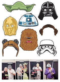 Image result for free star wars photo booth props