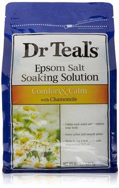 Dr. Teal's Epsom Salt Soaking Solution, Chamomile, 48 Ounce