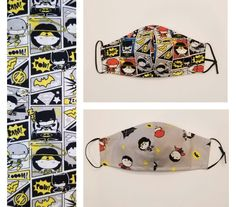 Excited to share this item from my #etsy shop: Kids/Adult DC Comics 100% Cotton Face Mask, Reusable with Wire & Filter pocket Triple Layer #fitted #kids #cotton #toddler #facemask #adjustable #superhero #dccomics Sliding Knot, Little Man, Mask For Kids, Dc Comics, Hot Pink, How To Find Out, Pocket, Purple, Face