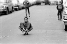 skateboarding....