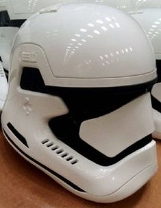 Episode VII New Storm Trooper (first look) // A picture from a different 'insider' appears to show the same helmet (Picture: The RPF)