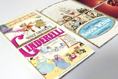 Disney Princess Movie Poster Cork Coasters Set - You Pick the Posters!