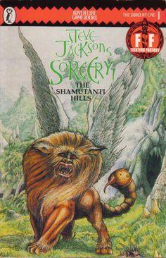 Steve Jackson's Sorcery: The Shamutanti Hills.