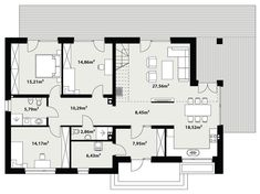 Compact Home Contemporary decor Sweden House, Contemporary Decor, My House, House Plans, Floor Plans, How To Plan, Projects, Compact, Houses