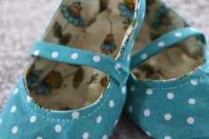 Handmade Fabric Baby Shoes | eHow Crafts