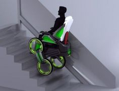 Segway Based DEKA iBot Wheelchair Wheelchair Stairs Climbing Segway Product Design GPS Disabled DEKA  Product Development
