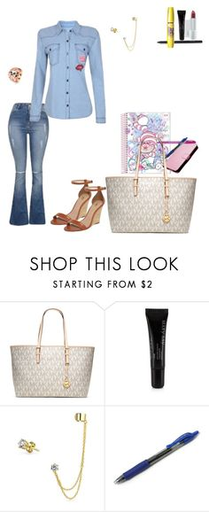 """Untitled #233"" by rafamelorodrigues ❤ liked on Polyvore featuring Bela, MICHAEL Michael Kors, Mary Kay and Bling Jewelry"
