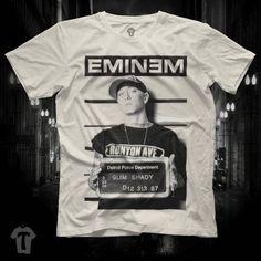 Eminem Mugshot Criminal The Real Slim Shady Unisex Black T Shirt Graphic Tee Eminem Men Shirt The Eminem Girl Shirt Size S M L XL 2XL by TISORD on Etsy