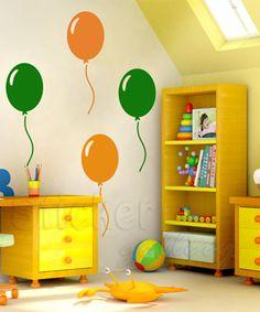 Wall Decals for Kids - Balloons!!!  Παιδικά αυτοκόλλητα τοίχου - Μπαλόνια