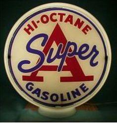 Super A 1955 to 1964 glass